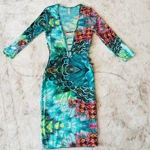 Trippy sexy dress